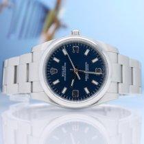 Rolex Oyster Perpetual 34 Stahl 34mm Blau Arabisch Deutschland, Hamburg