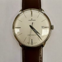 Junghans Meister Chronometer Steel 38,4mm Silver