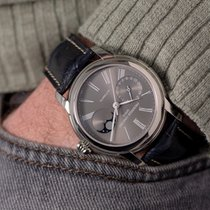 Frederique Constant Manufacture Classic Moonphase Steel 42mm Grey Roman numerals