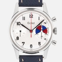 Gallet Steel 36mm pre-owned