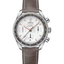 Omega Speedmaster neu 2020 Automatik Chronograph Uhr mit Original-Box und Original-Papieren 324.38.38.50.02.001