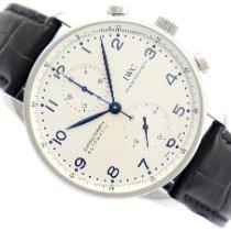 IWC Portuguese Chronograph IW371417 Bardzo dobry Stal 41mm Automatyczny Polska, Warszawa