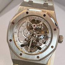 Audemars Piguet Royal Oak Tourbillon Steel 41mm Transparent No numerals