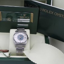 Rolex Oyster Perpetual 36 Acero 36mm Plata Arábigos