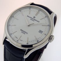 Baume & Mercier Clifton Steel 40mm White No numerals United States of America, California, Los Angeles