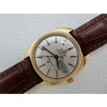 Omega Constellation Day-Date Or jaune 36mm Champagne Sans chiffres France, St goueno