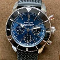 Breitling Superocean Héritage II Chronographe Zeljezo 44mm Plav-modar Bez brojeva