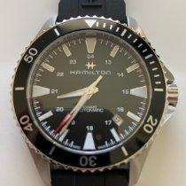Hamilton Khaki Navy Scuba Steel 40mm Black No numerals United States of America, Texas, Austin