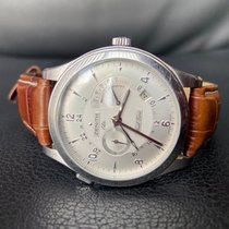Zenith Elite Steel 44mm Silver Arabic numerals