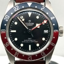 Tudor Black Bay GMT Steel 41mm Black No numerals United States of America, New York, New York