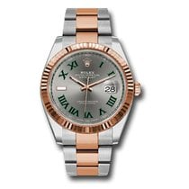Rolex Datejust II Gold/Steel 41mm Grey Roman numerals United States of America, New York, New York