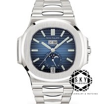 Patek Philippe Nautilus Steel 40.5mm Blue No numerals United States of America, New York, New York