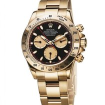 Rolex Daytona Yellow gold 40mm Black No numerals United States of America, New York, New York