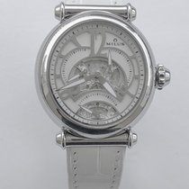 Milus Merea Steel 36mm Mother of pearl Arabic numerals