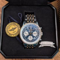Breitling Navitimer Gold/Steel Blue United States of America, Tennesse, Murfreesboro