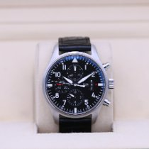 IWC Pilot Chronograph Steel 43mm Black Arabic numerals United States of America, Tennesse, Nashville