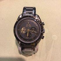 欧米茄 Speedmaster Professional Moonwatch 钢 42mm 黑色 无数字