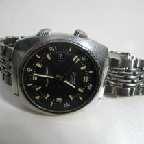 IWC Aquatimer Automatic Steel 40mm Black No numerals