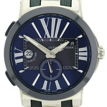 Ulysse Nardin Executive Dual Time 243-00 Very good Steel 43mm Automatic