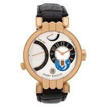 Harry Winston Premier Rose gold 39mm Silver Arabic numerals United States of America, Florida, Surfside