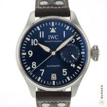 IWC Big Pilot Otel 46mm Albastru Arabic