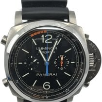 Panerai Luminor 1950 Regatta 3 Days Chrono Flyback Titanium 47mm Black No numerals United States of America, Florida, Naples