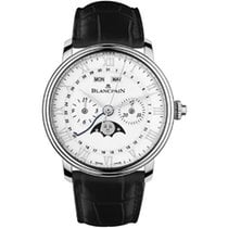 Blancpain Villeret Complete Calendar new Automatic Chronograph Watch with original box and original papers 6685-1127A-55B