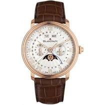 Blancpain Villeret Complete Calendar Rose gold 40mm Silver Roman numerals United States of America, Pennsylvania, Holland