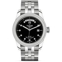 Tudor Glamour Date-Day Steel 39mm Black United States of America, Pennsylvania, Holland
