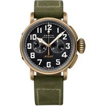 Zenith 29.2430.4069/21.C800 Bronze Pilot Type 20 Extra Special 40mm new United States of America, Pennsylvania, Holland