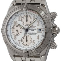 Breitling Chronomat Evolution Steel 44mm White