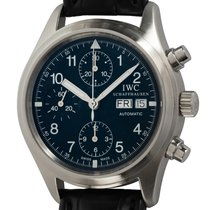 IWC Pilot Chronograph Steel 39mm Black Arabic numerals United States of America, Texas, Austin