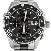 TAG Heuer Aquaracer 500M Steel 43mm Black United States of America, Illinois, BUFFALO GROVE