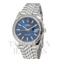 Rolex Datejust II Stahl 41mm Blau
