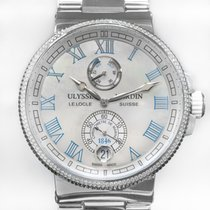Ulysse Nardin Marine Chronometer Manufacture Сталь 43mm Перламутровый