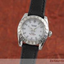 Tudor Classic Acier 28mm Blanc