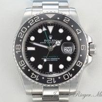 Rolex GMT-Master II Ceramica 40mm Negru Fara cifre