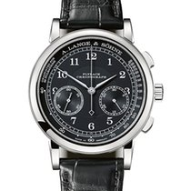A. Lange & Söhne 1815 new Manual winding Chronograph Watch with original box and original papers 414.028