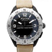 Alpina Alpiner Acero 45mm Negro