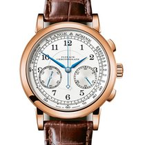 A. Lange & Söhne Red gold Manual winding Silver 39.5mm new 1815