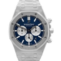Audemars Piguet Royal Oak Chronograph Stahl 41mm Blau