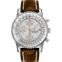 Breitling Navitimer Heritage Silver No numerals