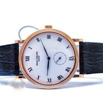 Patek Philippe Calatrava Rose gold 33mm White Roman numerals