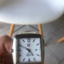 TAG Heuer Professional Golf Watch Acier Blanc