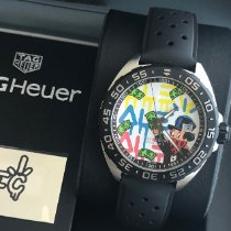 TAG Heuer Formula 1 Quartz Staal 41mm Wit