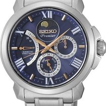 Seiko Premier Kinetic Direct Drive Bleu