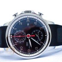 IWC Portuguese Yacht Club Chronograph Steel Black Arabic numerals Malaysia