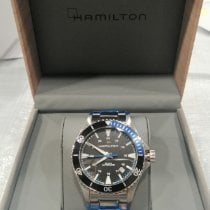 Hamilton Khaki Navy Scuba Steel 40mm Black