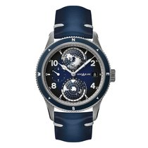 Montblanc new Automatic Small seconds 42mm Titanium Sapphire crystal