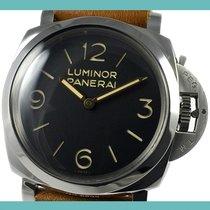 Panerai Luminor 1950 PAM 00372 Meget god Stål 47mm Manuelt